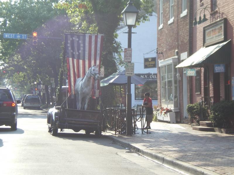 Rue de Mount Vernon