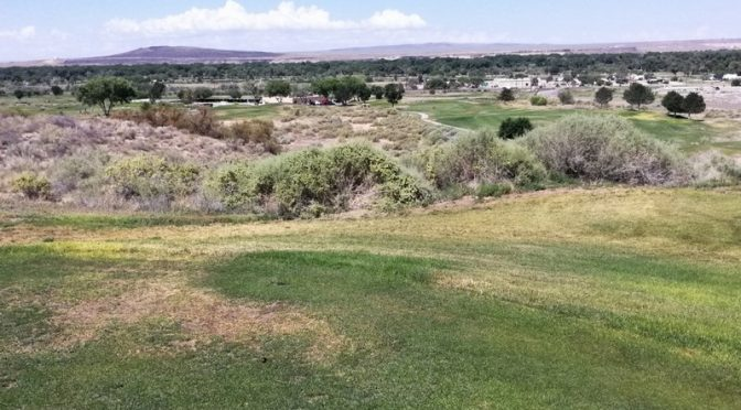 Isleta Eagle Golf course (lakes/arroyo)
