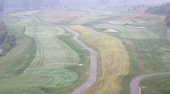 Pete Dye River Course at Virginia Tech.