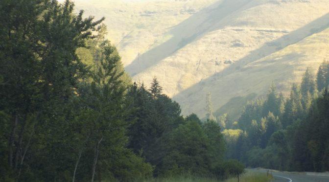 Au bout du Lewis et Clarck trail